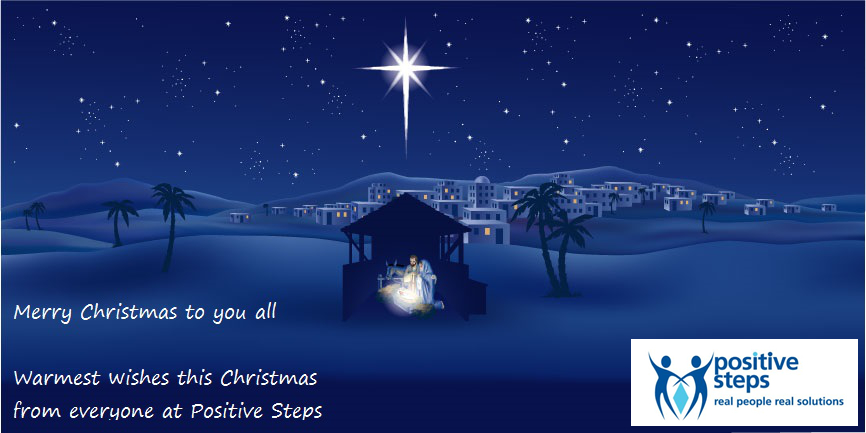 Merry Christmas from everyone at Positive Steps